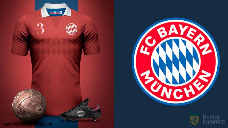 Camisas clássicas do futebol: Bayern de Munique