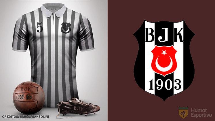 Camisas clássicas do futebol: Besiktas