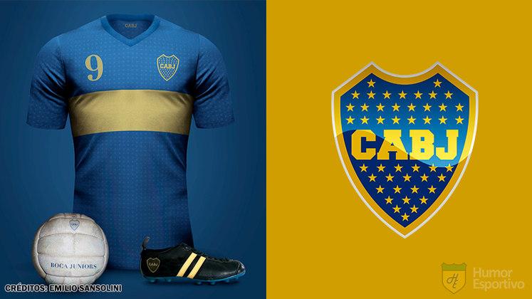 Camisas clássicas do futebol: Boca Juniors