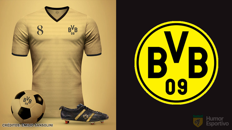 Camisas clássicas do futebol: Borussia Dortmund