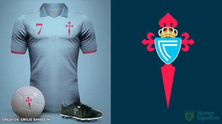 Camisas clássicas do futebol: Celta de Vigo