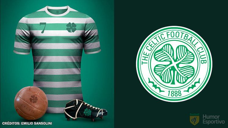 Camisas clássicas do futebol: Celtic