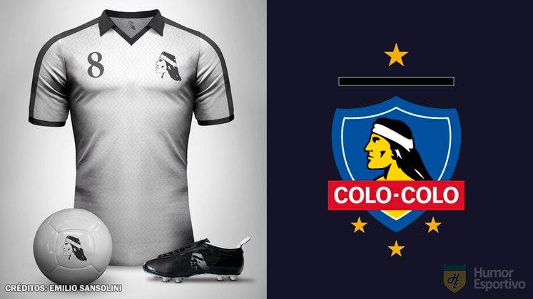 Camisas clássicas do futebol: Colo-Colo