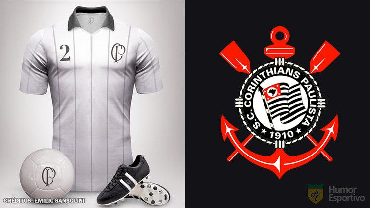 Camisas clássicas do futebol: Corinthians