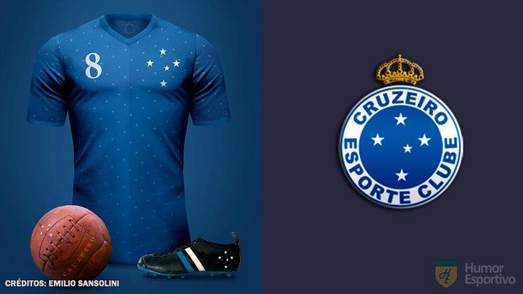 Camisas clássicas do futebol: Cruzeiro