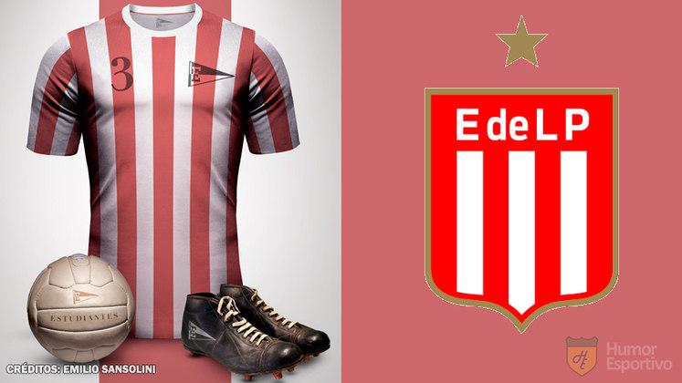 Camisas clássicas do futebol: Estudiantes