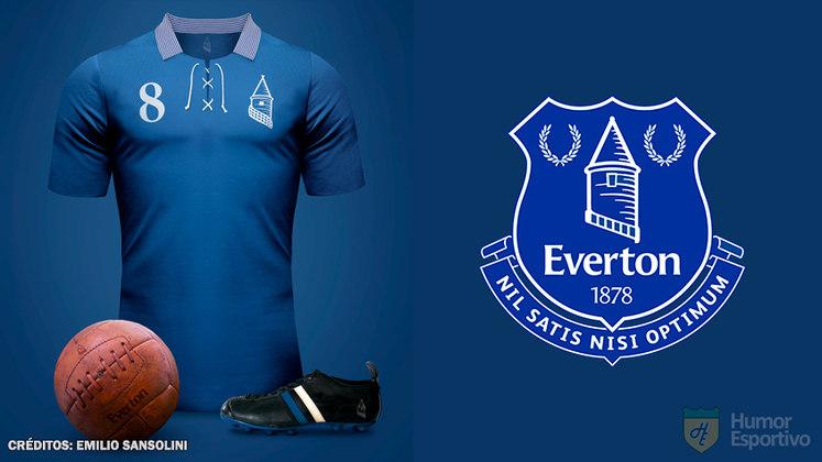 Camisas clássicas do futebol: Everton