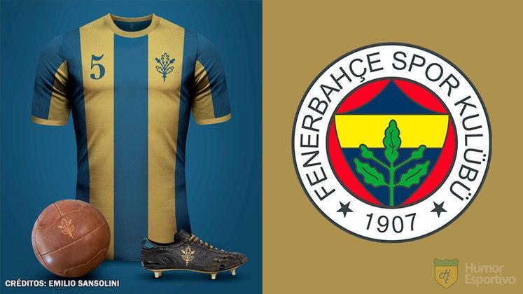 Camisas clássicas do futebol: Fenerbahce