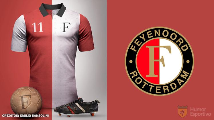 Camisas clássicas do futebol: Feyenoord