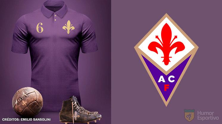 Camisas clássicas do futebol: Fiorentina