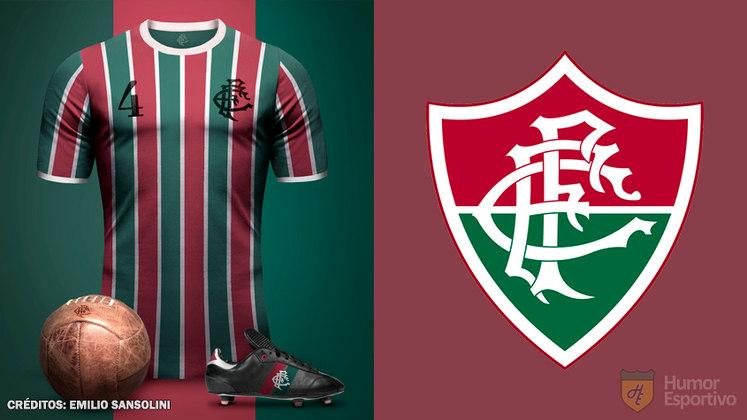 Camisas clássicas do futebol: Fluminense