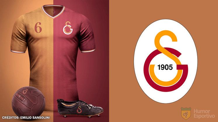 Camisas clássicas do futebol: Galatasaray