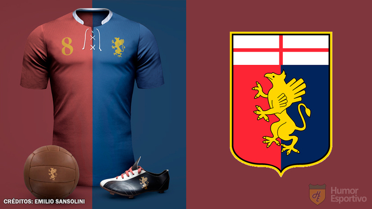 Camisas clássicas do futebol: Genoa