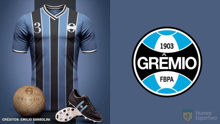 Camisas clássicas do futebol: Grêmio