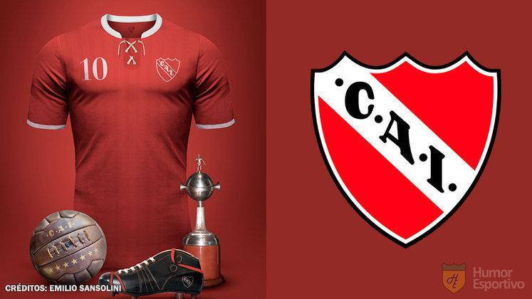 Camisas clássicas do futebol: Independiente