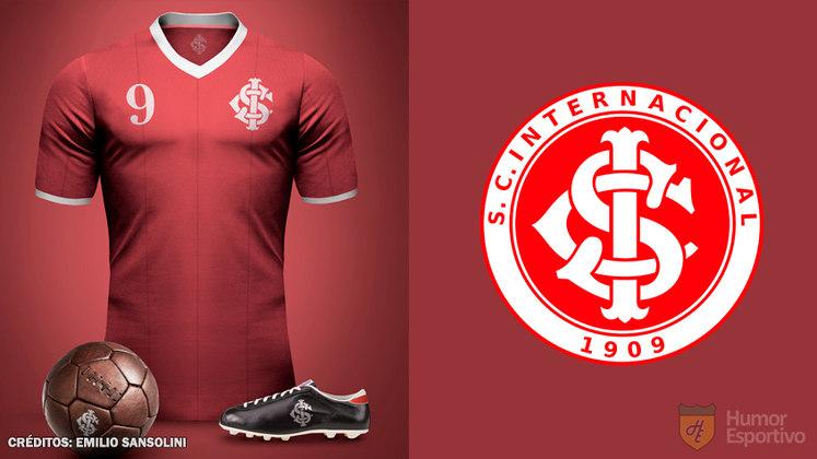Camisas clássicas do futebol: Internacional