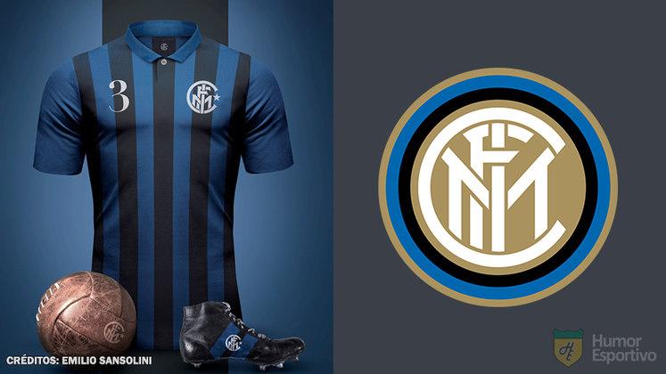 Camisas clássicas do futebol: Internazionale de Milão