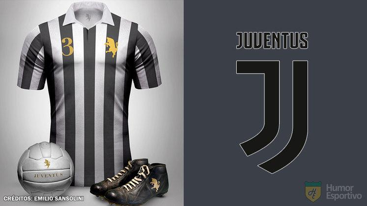 Camisas clássicas do futebol: Juventus