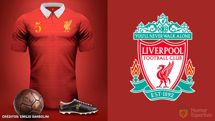 Camisas clássicas do futebol: Liverpool