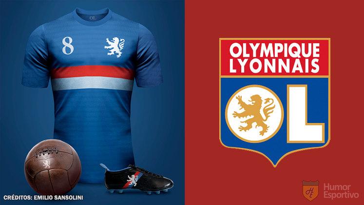 Camisas clássicas do futebol: Lyon