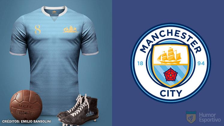 Camisas clássicas do futebol: Manchester City