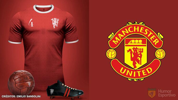 Camisas clássicas do futebol: Manchester United