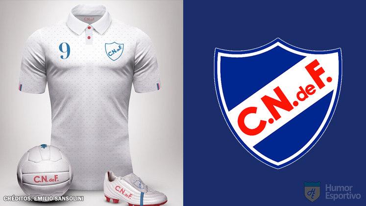 Camisas clássicas do futebol: Nacional