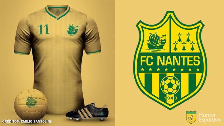 Camisas clássicas do futebol: Nantes
