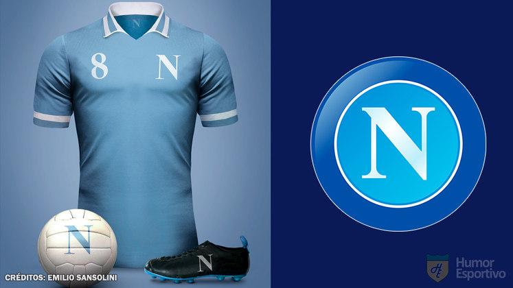 Camisas clássicas do futebol: Napoli