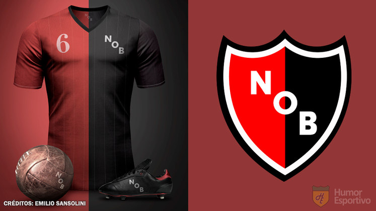 Camisas clássicas do futebol: New Old Boys