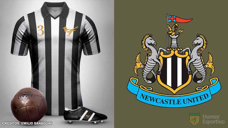 Camisas clássicas do futebol: Newcastle