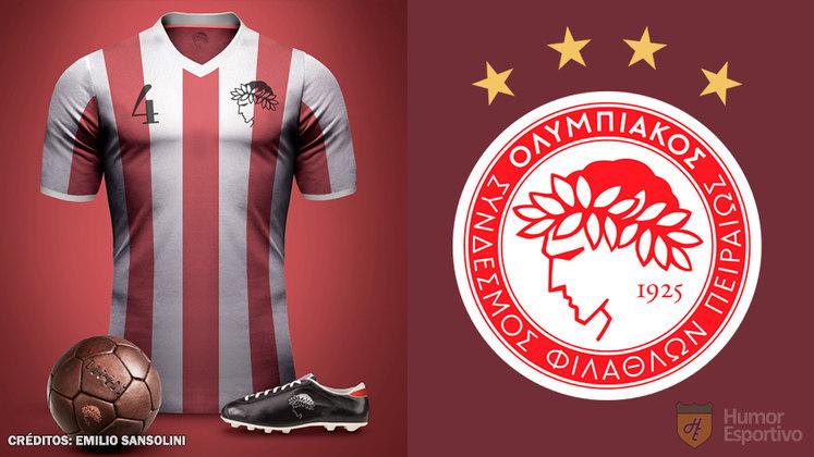 Camisas clássicas do futebol: Olympiakos