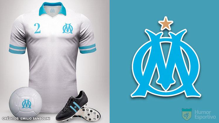 Camisas clássicas do futebol: Olympique de Marseille