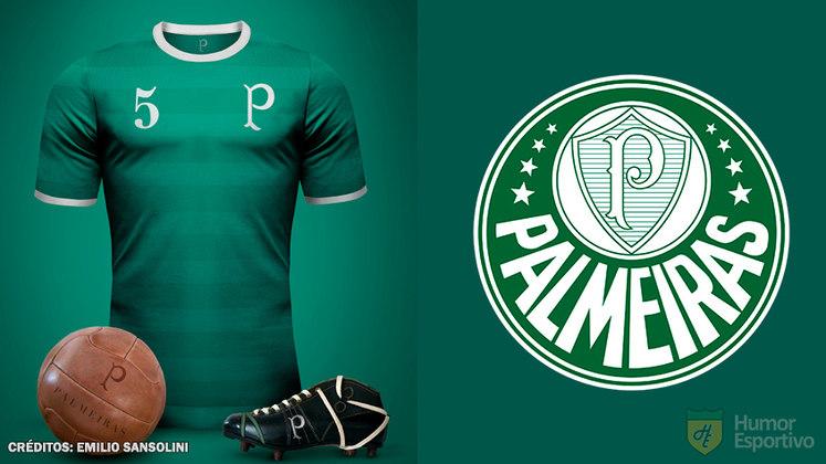 Camisas clássicas do futebol: Palmeiras
