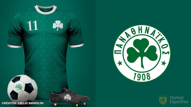 Camisas clássicas do futebol: Panathinaikos