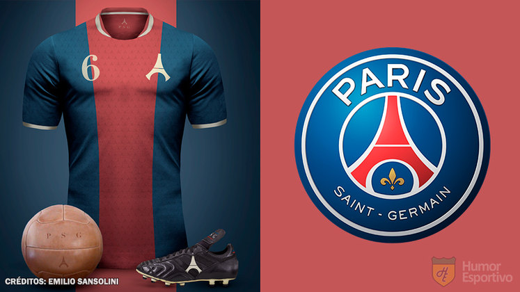 Camisas clássicas do futebol: Paris Saint-Germain