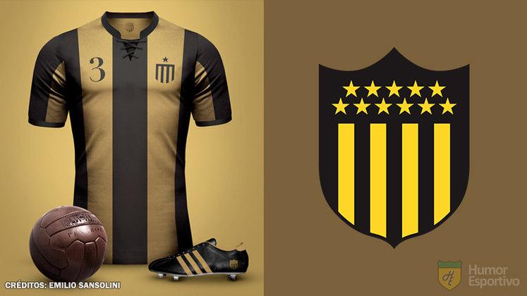 Camisas clássicas do futebol: Peñarol