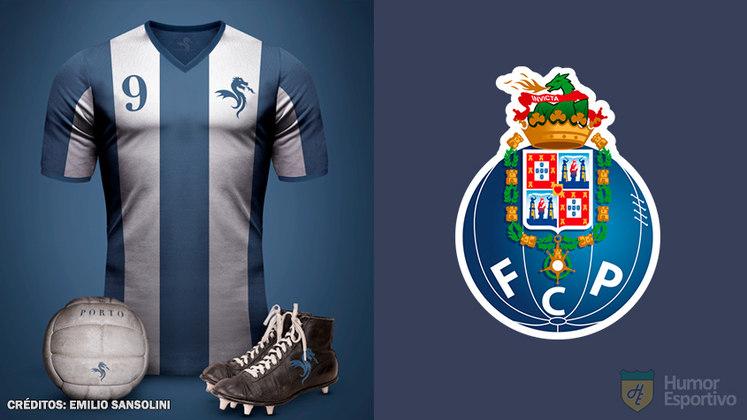 Camisas clássicas do futebol: Porto