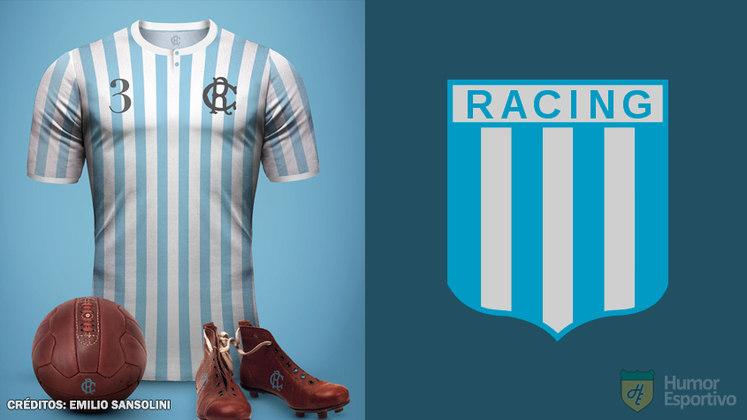 Camisas clássicas do futebol: Racing