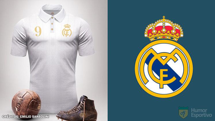 Camisas clássicas do futebol: Real Madrid