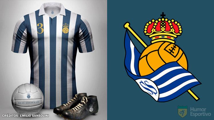 Camisas clássicas do futebol: Real Sociedad