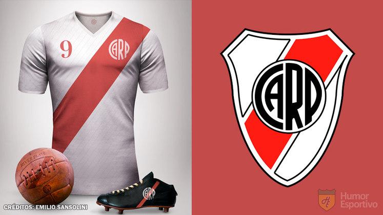 Camisas clássicas do futebol: River Plate