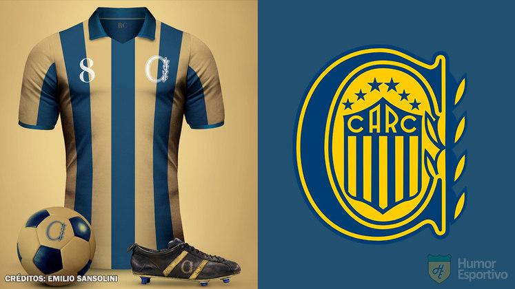 Camisas clássicas do futebol: Rosario Central
