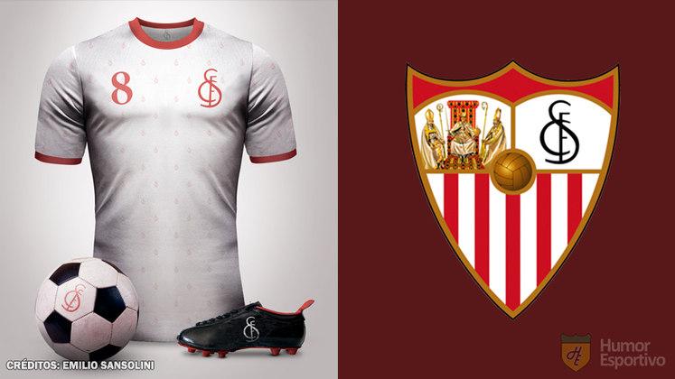 Camisas clássicas do futebol: Sevilla