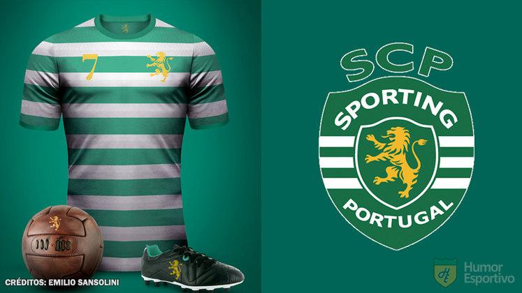 Camisas clássicas do futebol: Sporting