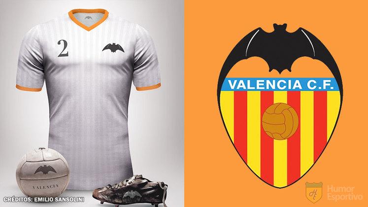 Camisas clássicas do futebol: Valencia