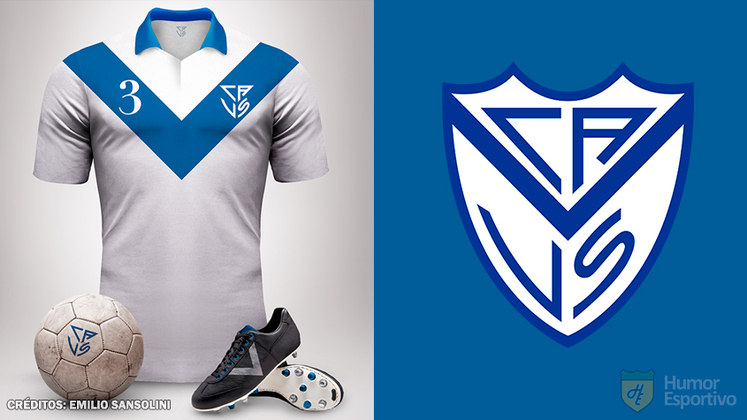 Camisas clássicas do futebol: Velez Sarsfield