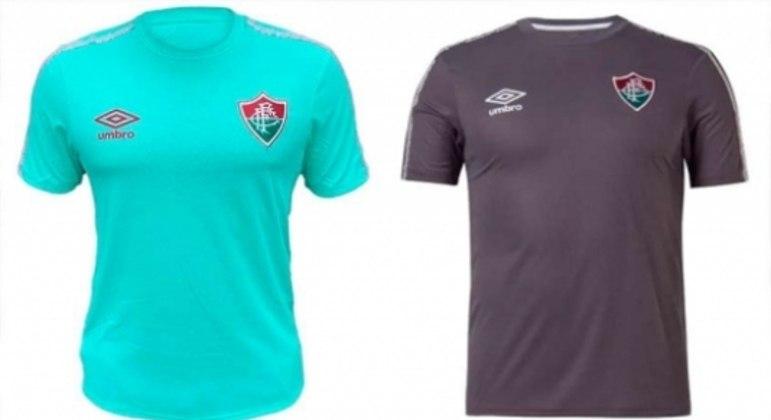 Camisas de concentração do Fluminense