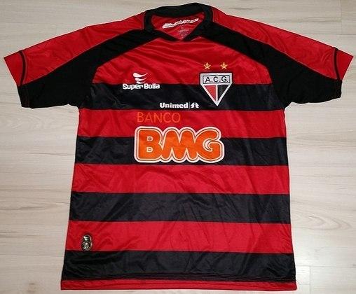 Camisas dos times da atual Serie A em 2010: Atlético-GO