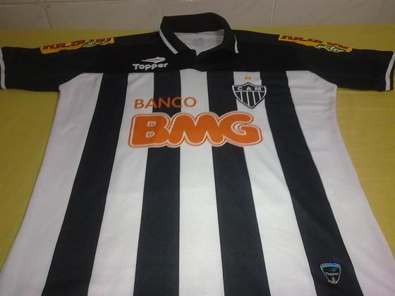 Camisas dos times da atual Serie A em 2010: Atlético-MG
